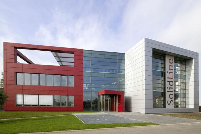 SolidLine AG - Ihr Partner für SOLIDWORKS. Über uns, Zentrale in Wiesbaden