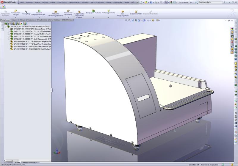 Das neue Kalorimeter MMC 274 Nexus, dass über verschiedene Messmodule verfügt, entstand bereits mit dem neuen CAD-PLM-Workflow