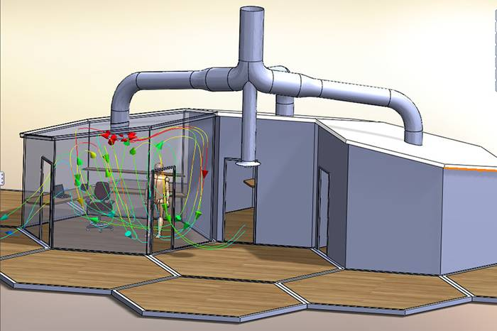 SOLIDWORKS Flow Simulation HVAC Teaser
