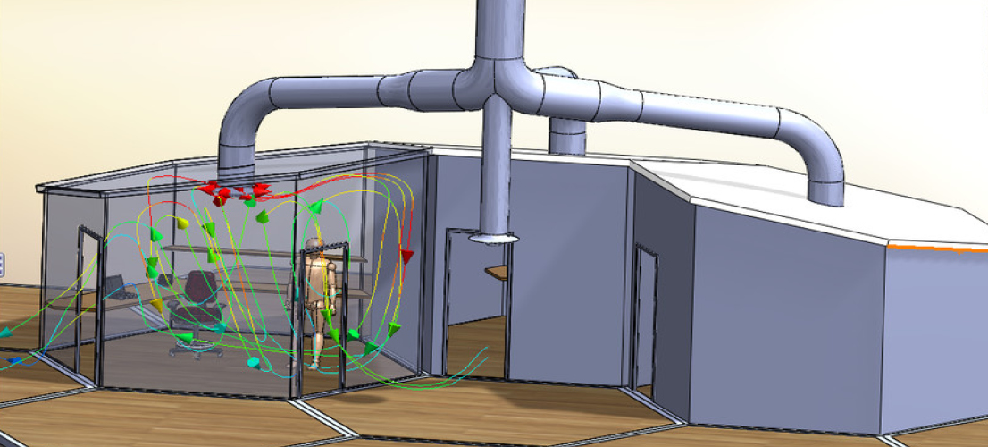 SOLIDWORKS Flow Simulation HVAC Modul