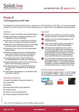 Datenblatt Porta-X