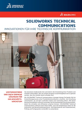 Datenblatt Technische Kommunikation: SOLIDWORKS Composer, Inspection, MBD