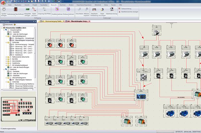 Elektrsiche Systeme - SOLIDWORKS Electrical Schematic