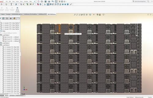 NESTINGWorks Verschachteln von Teilen Screenshot