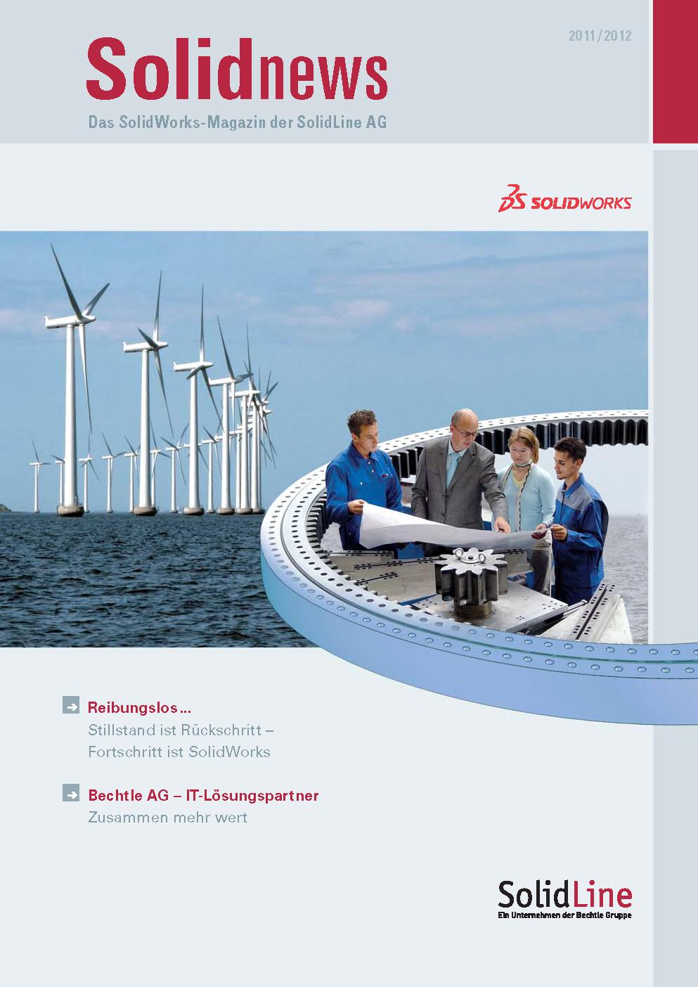 solidnews 2011-12 SOLIDWORKS Kundenmagazin der SolidLine
