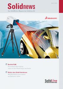 solidnews 2013-14 SOLIDWORKS Kundenmagazin der SolidLine