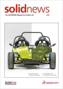 solidnews 2017 SOLIDWORKS Kundenmagazin der SolidLine