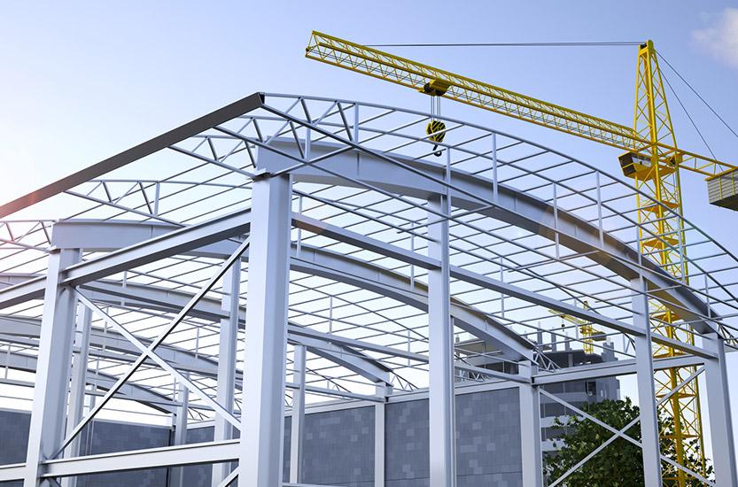Presse SolidSteel Stahlbau mit SOLIDWORKS