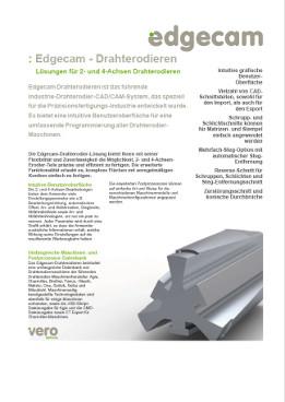 Edgecam Wire: Lösungen für 2- und 4-Achsen Drahterodieren