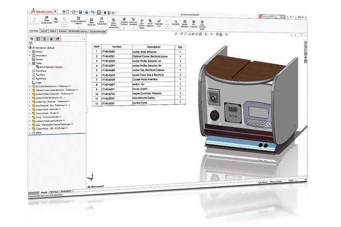 SOLIDWORKS 2018 3D CAD Top 10 Neue Funktionen 3D Interconnect