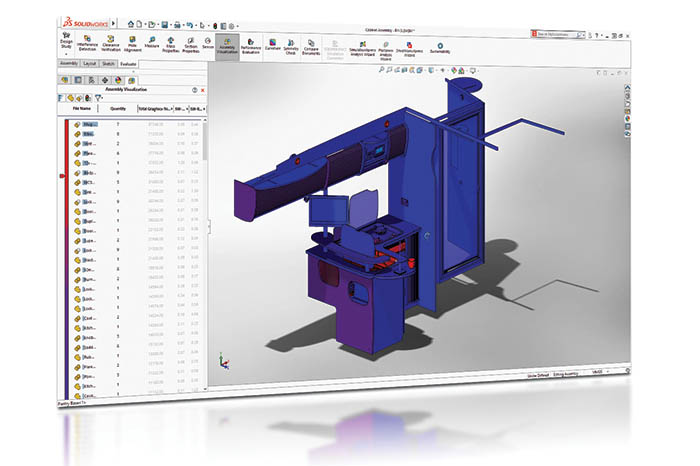 SOLIDWORKS 2018 3D CAD Top 10 Neue Funktionen Assembly Performace Visualization