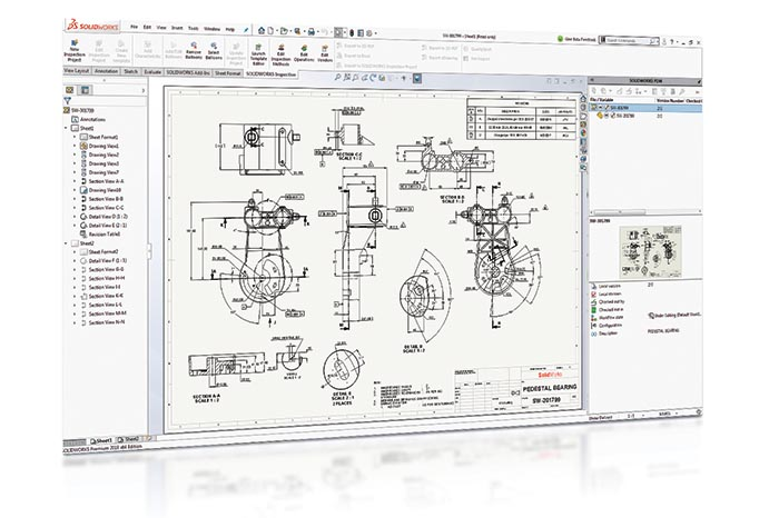SOLIDWORKS 2018 PDM Top10 Neue Funktionen Revision Table