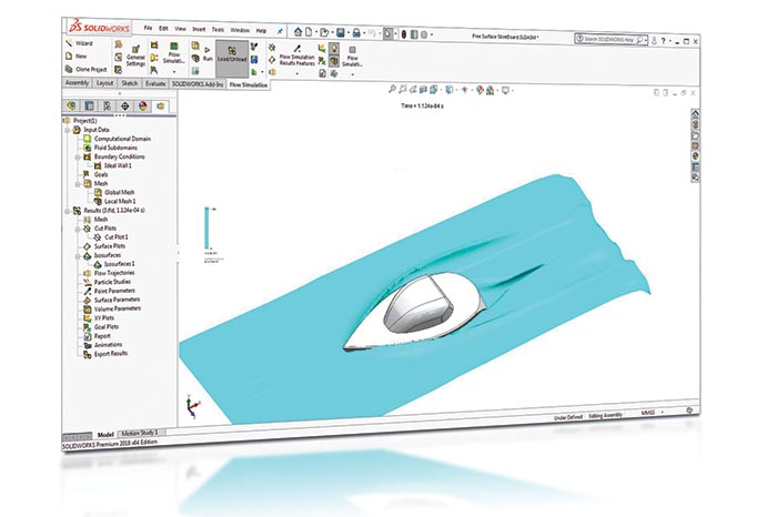 SOLIDWORKS 2018 Simulation Top10 Neue Funktionen Free Surf