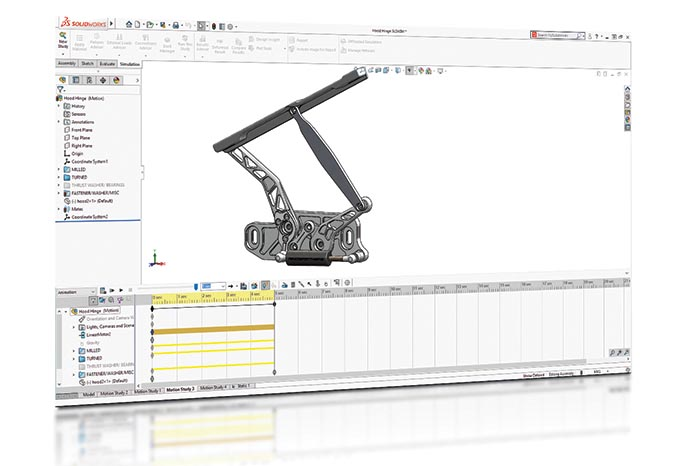 SOLIDWORKS 2018 Simulation Top10 Neue Funktionen Motion