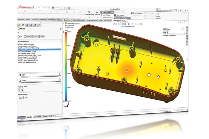 SOLIDWORKS 2018 Simulation Top10 Neue Funktionen New Results