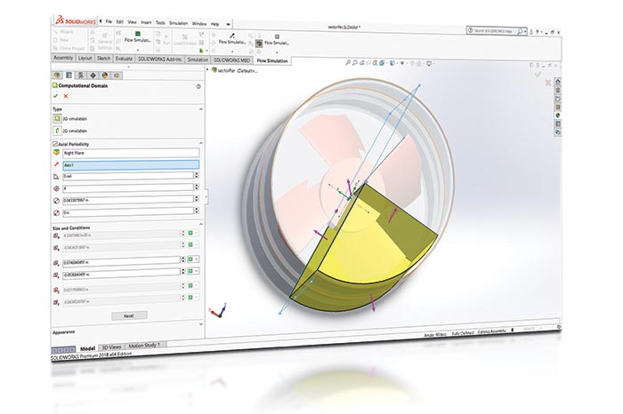SOLIDWORKS 2018 Simulation Top10 Neue Funktionen Sector Period
