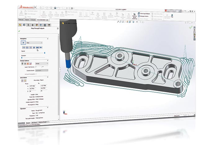 SOLIDWORKS 2018 Top10 Neue Funktionen CAM Volumill