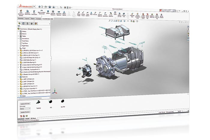 SOLIDWORKS 2018 Top10 Neue Funktionen MBD Part Level PMI