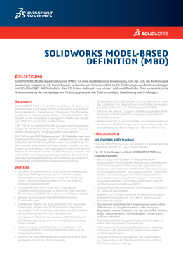 SOLIDWORKS Model-Based Definition MBD
