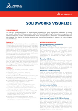 SOLIDWORKS Visualize 2018