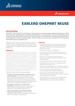 SOLIDWORKS EXALEAD OnePart