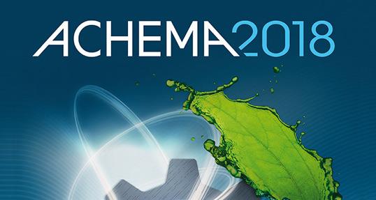 ACHEMA 2018: Leitmesse der Prozessindustrie in Frankfurt