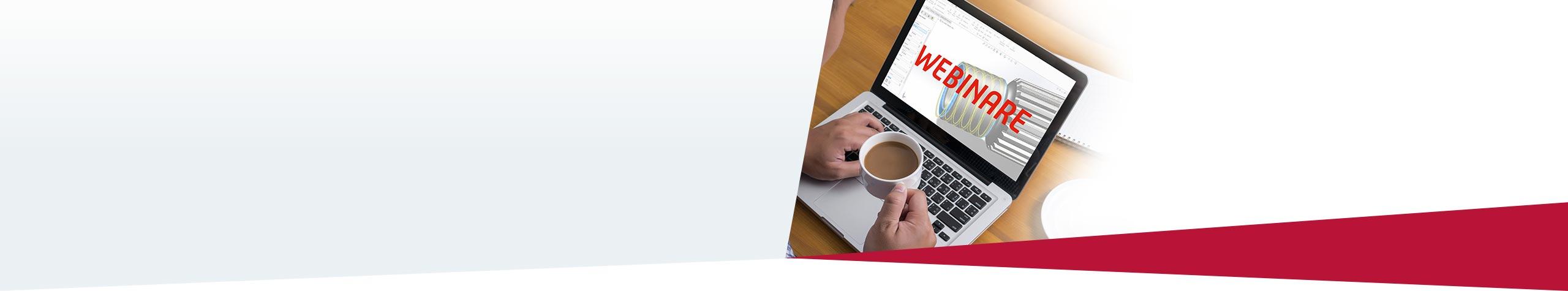 Webinare Rund um die Produktentwicklung mit SOLIDWORKS.