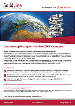 Datenblatt SOLIDWORKS Composer Übersetzungen