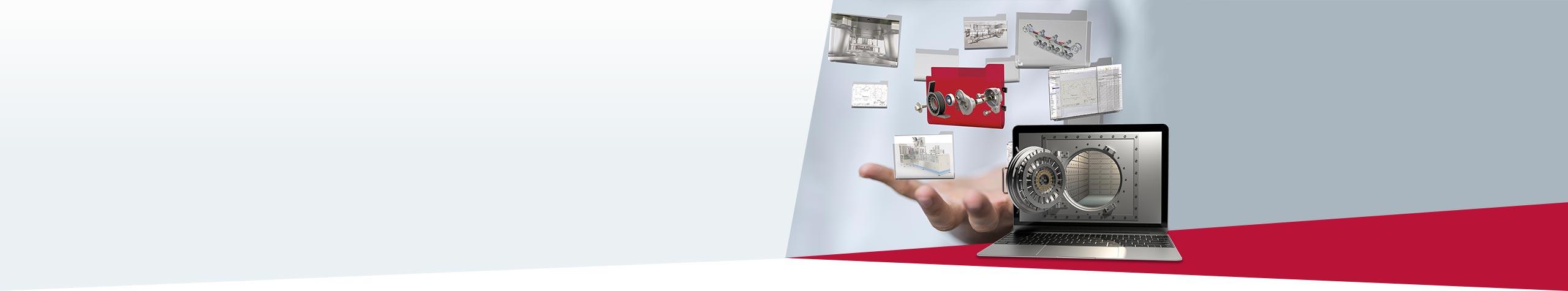 SOLIDWORKS SmartStart PDM Ihr Konstruktionsschatz sicher verwahrt. Zur Aktion