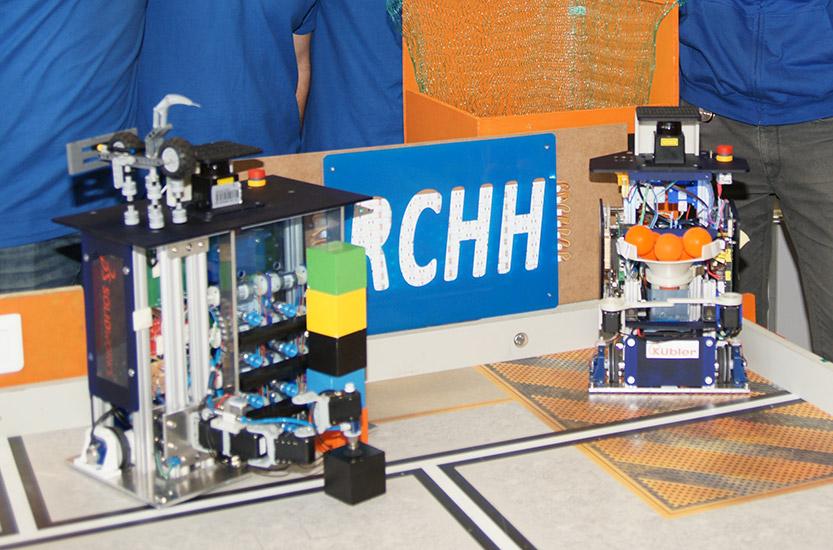 Mit SOLIDWORKS zum Finale des Internationalen Robotik-Wettbewerbs in Frankreich