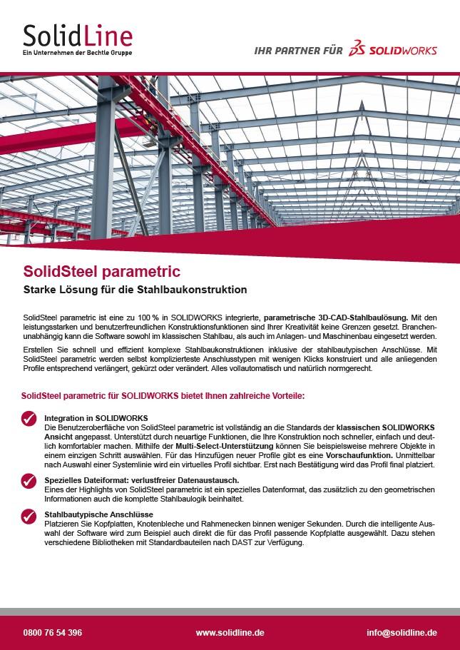 Vorschau SolidSteel parametric Datenblatt