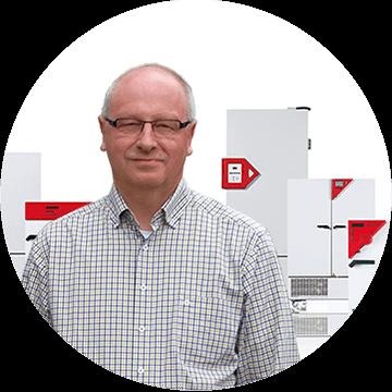 Bernd Hofmann, Leiter Produktentwicklung Wärme, BINDER GmbH