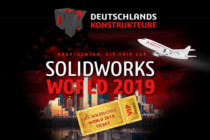 SOLIDWORKS Wettbewerb Deutschlands Konstrukteure