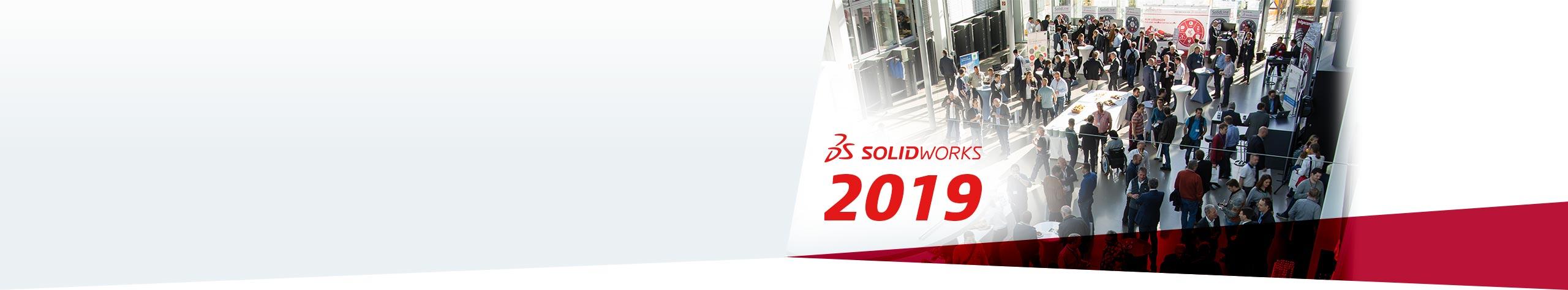 SOLIDWORKS 2019 Erleben Sie die Highlights auf unseren Launch-Events. Zu den Events