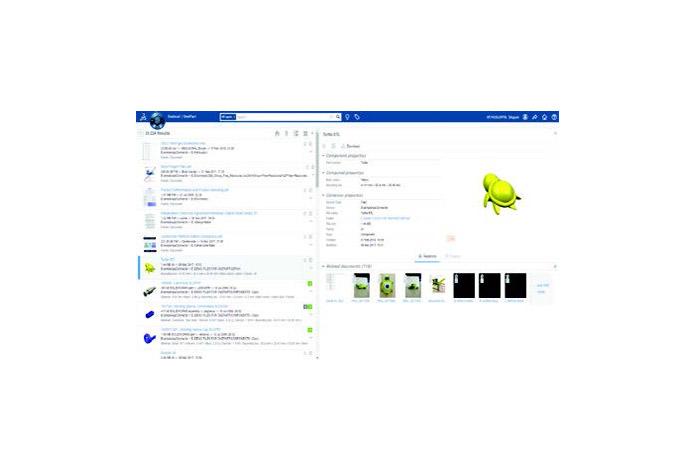 SOLIDWORKS-2019-PDM-Top-10-neue-Funktionen-EXALEAD-OnePart-Benutzeroberfläche