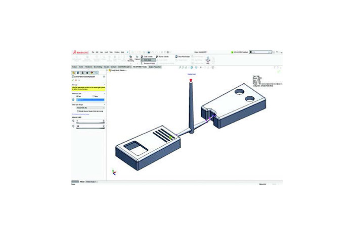 SOLIDWORKS 2019 Simulation Top 10 Neue Funktionen Konfiguration von SOLIDWORKS Plastics