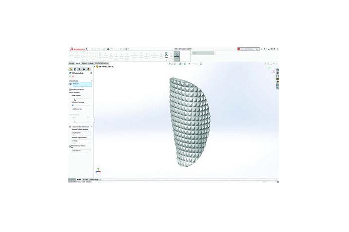 SOLIDWORKS 2019 3D-CAD Top 10 Neue Funktionen Netzmodellierung