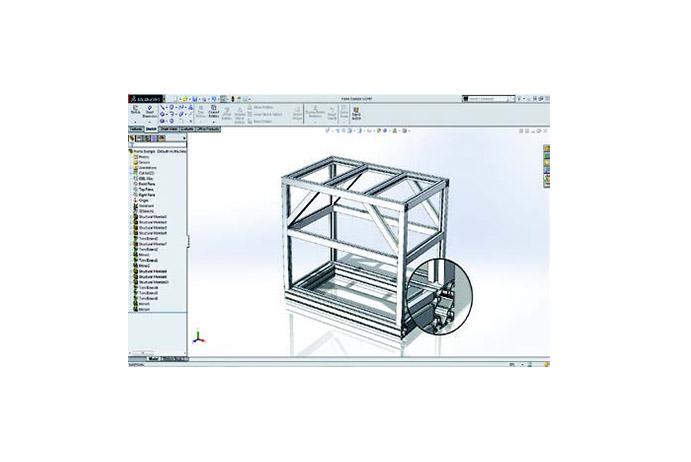 SOLIDWORKS 2019 3D-CAD Top 10 Neue Funktionen Schweisskonstruktionen