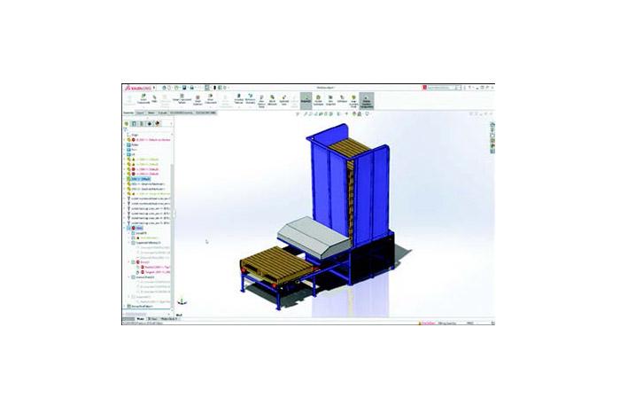 SOLIDWORKS 2019 3D-CAD Top 10 Neue Funktionen große Baugruppen
