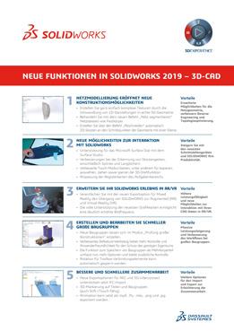 Vorschau SOLIDWORKS 2019 Neue Funktionen