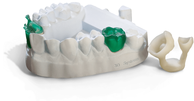 3D Systems Dental 3D-Drucker Partials