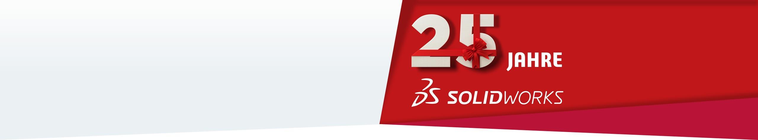25 Jahre SOLIDWORKS 25 Jahre einzigartige Werkzeuge in der Produktentwicklung