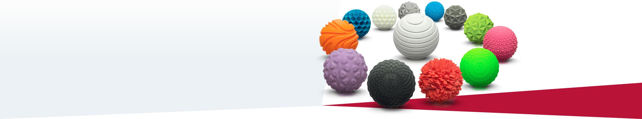 Auswahl 3D-Druck Materialien So vielseitig, wie Ihre Anforderungen.