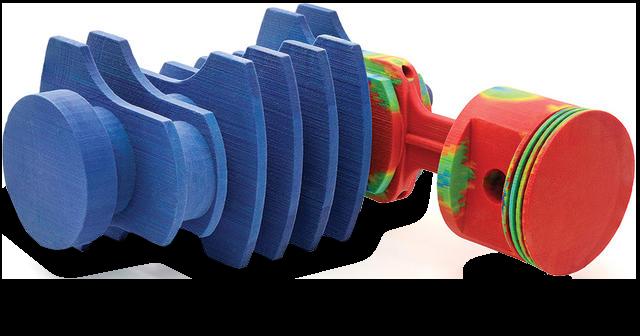Vollfarb-3D-Drucker OrangeBlueGun300