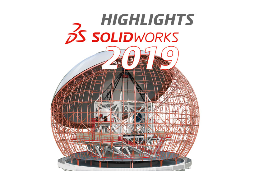 [Video] SOLIDWORKS 2019 – Die Highlights im Überblick