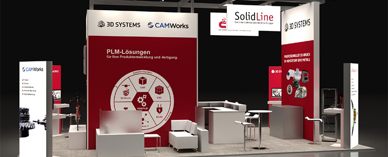 SolidLine INTEC 2019 Stand Blog