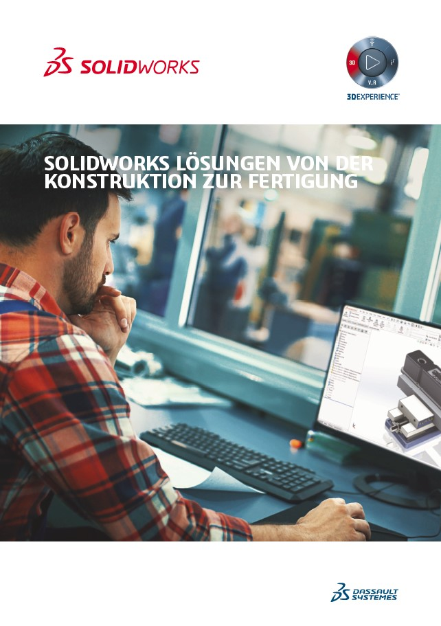 SOLIDWORKS 2019 Konstruktion zur Fertigung