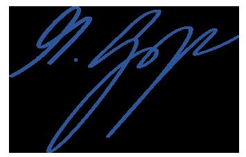 Mike Gregor Unterschrift