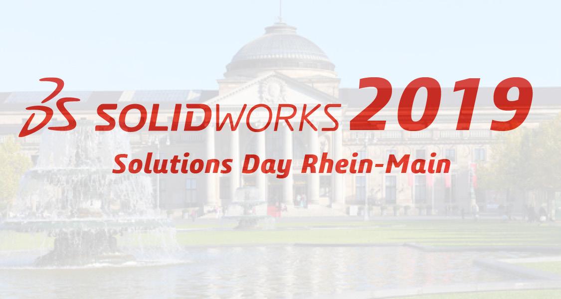 Teaser SOLIDWORKS Solutions Day Rhein-Main 2019