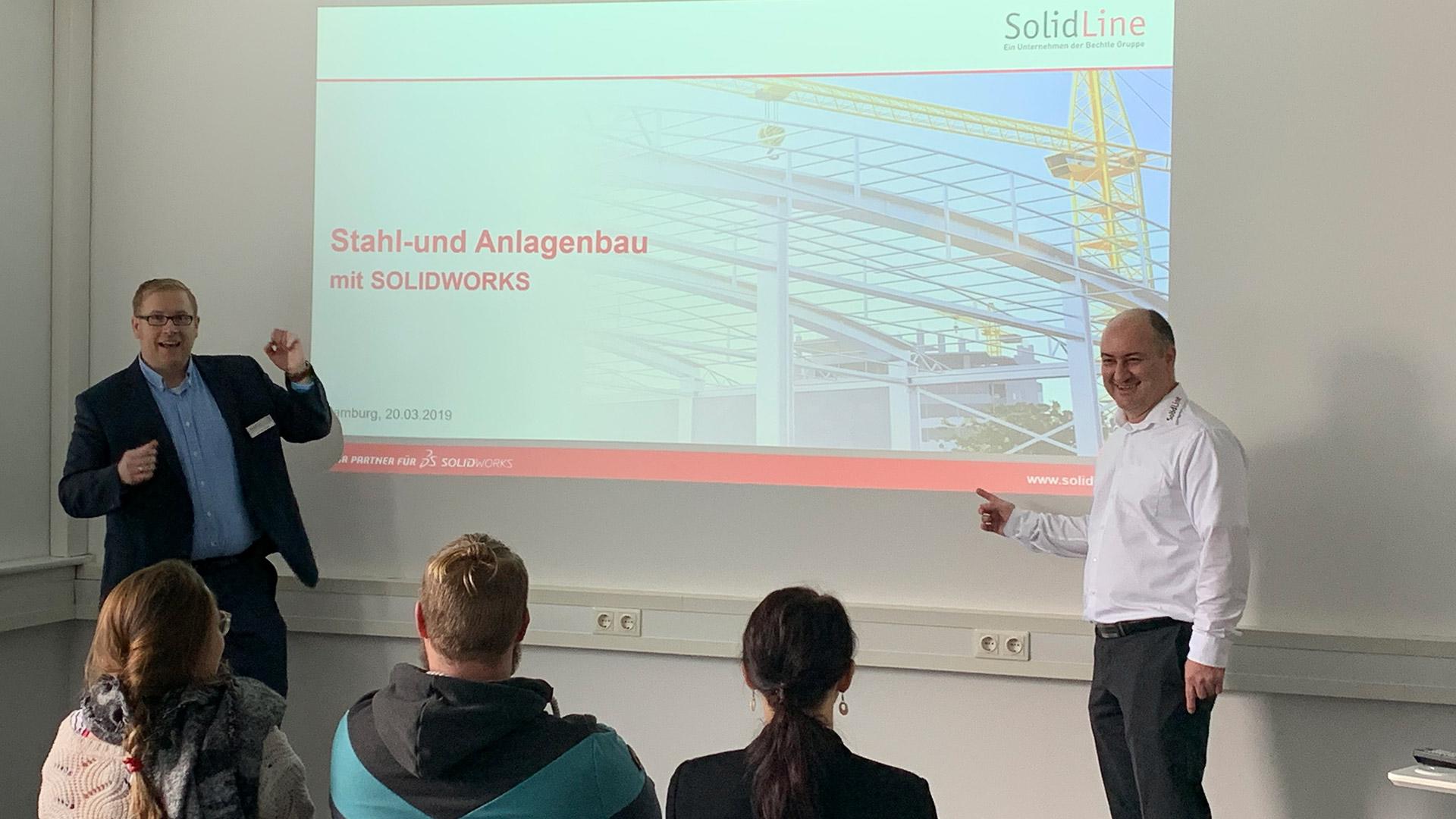 SolidLine Stahl- und Anlagenbau Events